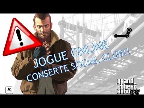GTA IV - Arrume o Social Club e jogue online!!