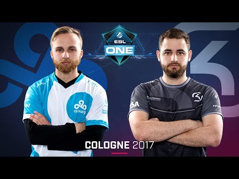 CS:GO - Cloud9 vs. SK [Cbble] Map 1 - Grand Final - ESL One