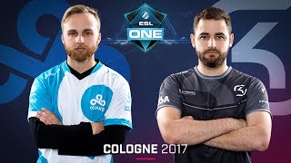 CS:GO - Cloud9 vs. SK [Cbble] Map 1 - Grand Final - ESL One Cologne 2017