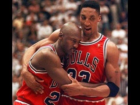 Michael Jordan Through the Flu