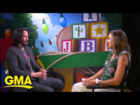 Keanu Reeves' new role in 'Toy Story 4' has people buzzing | GMA
