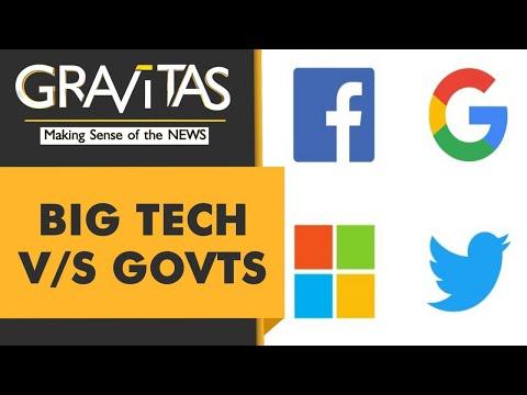 Gravitas: Governments move to end Big Tech's free run