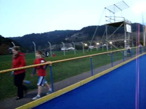 Manuela and Eduarda Hockey Game