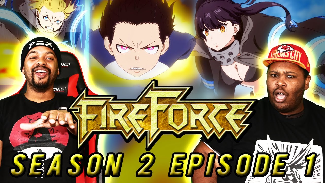 Download HOT Start! Fire Force Season 2 Reaction Episode 1   Blind Reaction  enen no shouboutai season 2