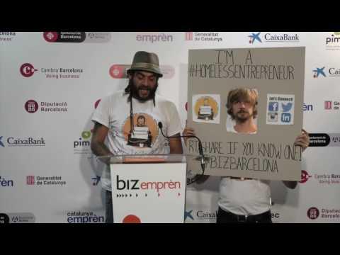 Video Pitch Bizbarcelona 2016: Homeless Entrepreneur