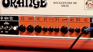 Orange Rockerverb 100 MKIII 100 Watt Tube Head