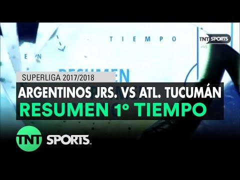 Resumen Primer Tiempo: Argentinos Jrs. vs Atl. Tucumán   Fecha 16 - Superliga Argentina 2017/2018