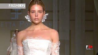 ELISABETTA POLIGNANO Bridal 2018   Sì Sposaitalia 2017 Milan   Fashion Channel