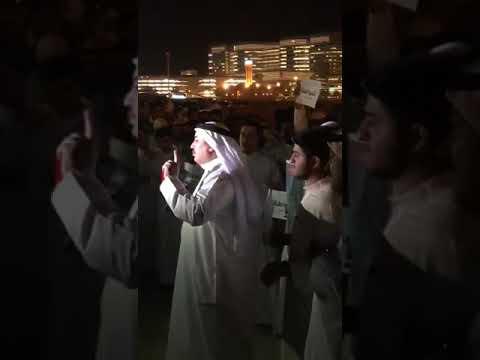 محمد خضير العنزي يدافع عن البدون