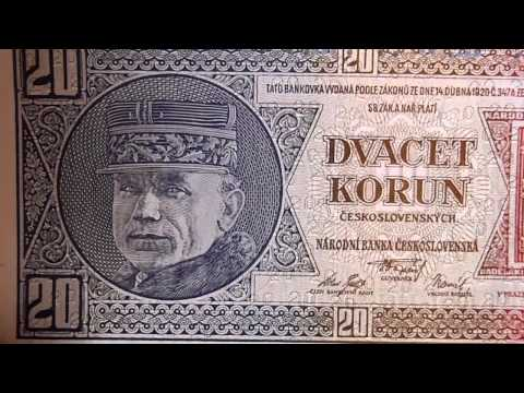 my currency - first Czechoslovak republic 1918-1938