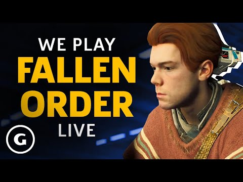 Star Wars Jedi: Fallen Order | GameSpot Live
