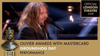 Tim Minchin performs Groundhog Day at the Olivier Awards 2017 with Mastercard