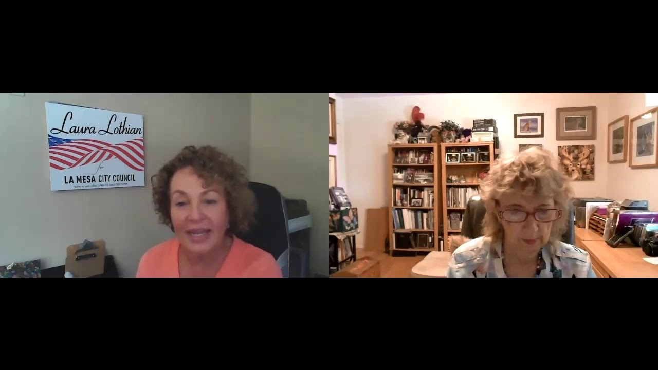 Interview with Laura Lothian, La Mesa 2020 City Council candidate