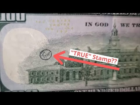 WEIRD STAMPED $100 BILLS FOUND Searching For Rare Banknotes And Serial Numbers
