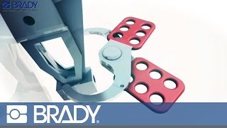 Brady Lockout Tagout Device Movie: Safety hasps
