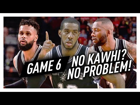 LaMarcus Aldridge, Jonathon Simmons & Patty Mills Game 6 Highlights vs Rockets 2017 Playoffs - EPIC