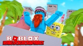 VISITING SPONGEBOB AND PATRICK IN BIKINI BOTTOM !!! Sharky Gaming | Roblox
