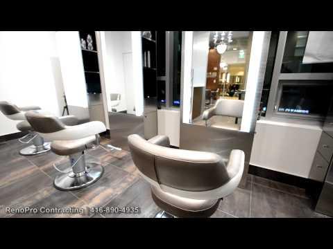 Hair Salon Renovation - RenoPro Contracting