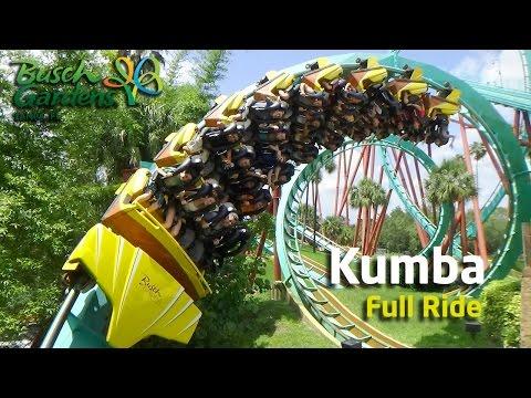 Montaña Rusa EXTREMA - Kumba Busch Gardens Tampa - Full Ride + POV