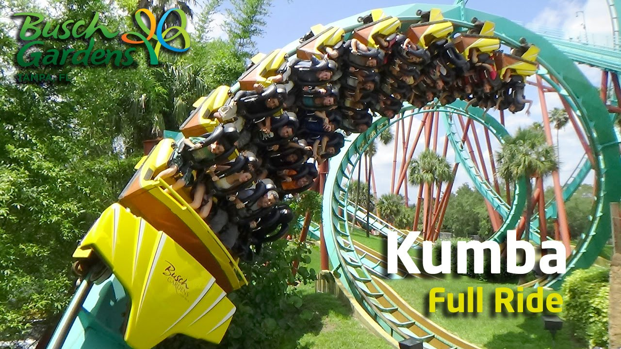 Montaña Rusa EXTREMA   Kumba Busch Gardens Tampa   Full Ride + POV