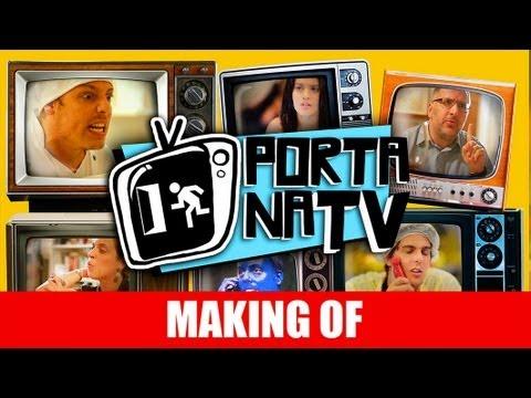 MAKING OF – PORTA DOS FUNDOS NA TV