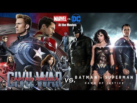 Captain America: Civil War vs. Batman v Superman: Dawn of Justice - Marvel vs. DC At the Movies