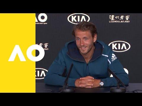 Lucas Pouille press conference (SF) | Australian Open 2019