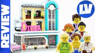 LEGO Creator Downtown Diner Review! - 10260 - 2019