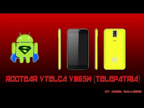 Rootear - ☆ Vtelca V865m (Telepatria) ☆