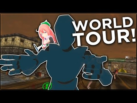 "THE VRCHAT WORLD TOUR! ft. Vigor's ""new"" name 