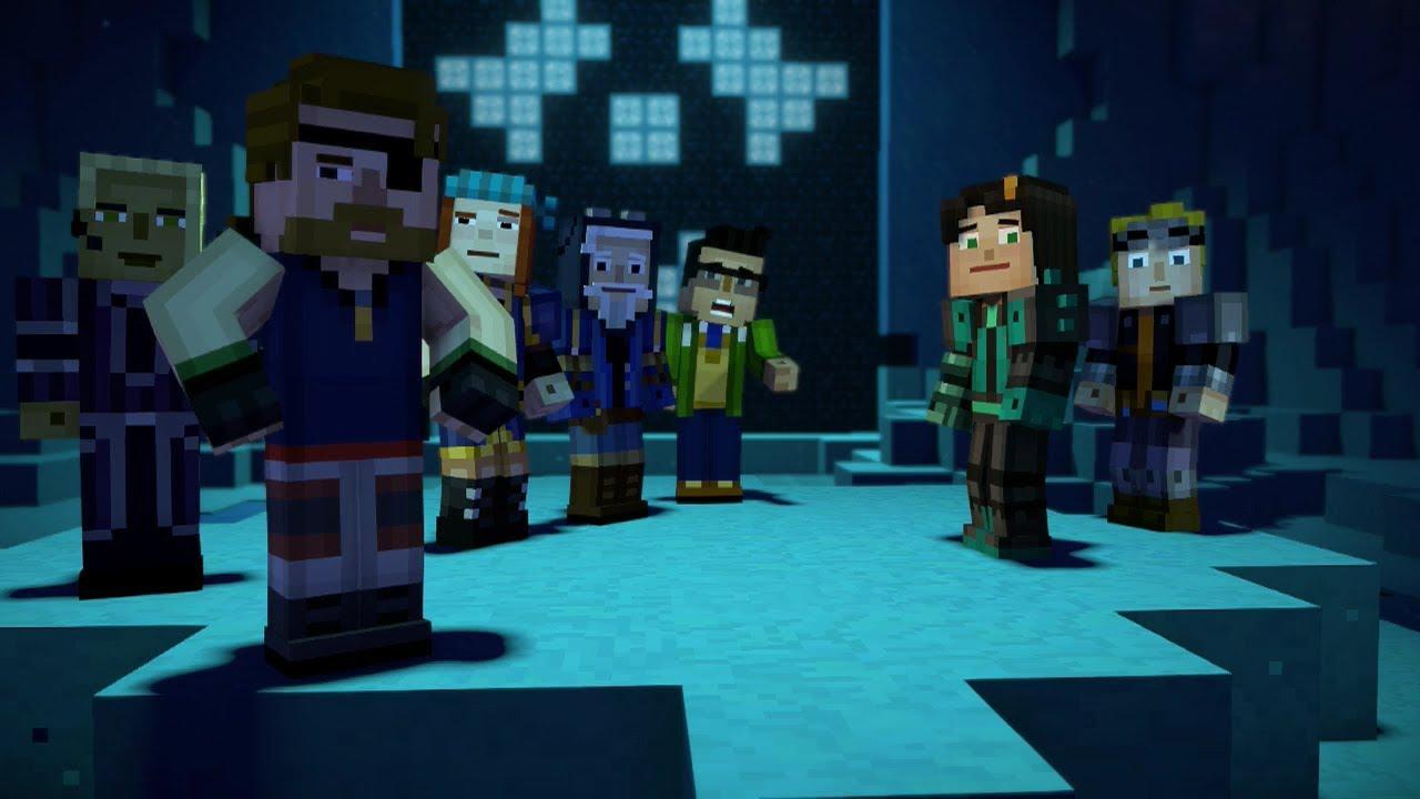 Minecraft Story Mode Female Playthrough Season 2 Episode 2 Giant