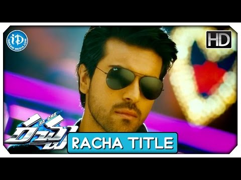 Racha Full Video Songs HD - Racha Title...