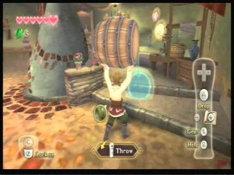 Let's Play The Legend of Zelda: Skyward Sword Part 1-2: A  New Begining