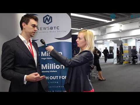 Interview With CEO Of BitRewards At London ICO Crypto Economy Conference