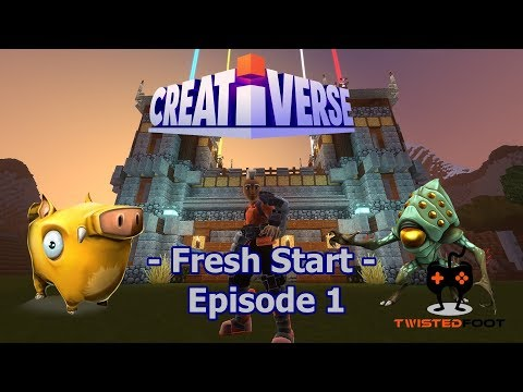 Fresh Start | Creativerse | PC Let's Play Gameplay | EP. 1