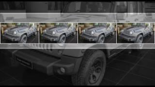 "AD: Jeep at the Kuala Lumpur Fashion Week  – come see the custom-built ""Merdeka"" Edition Wrangler"