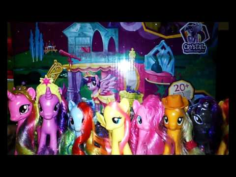 MLP:CASTELLO DI TWILIGHT DELLA CRYSTAL CELEBRATION