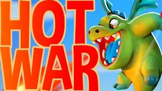 HOT WAR in CLAN WARS! - Clash Royale