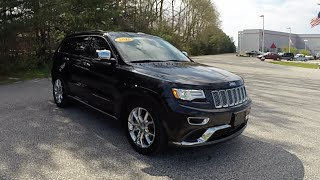 2015 Jeep Grand Cherokee Summit 4X4|P10706