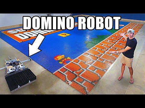 Vidéo : voici le Dominator, un robot capable d'installer 100000 dominos