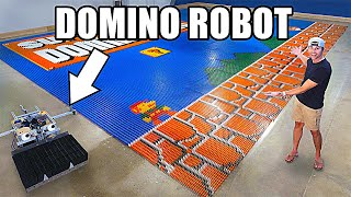 World Record Domino Robot (100k dominoes in 24hrs)