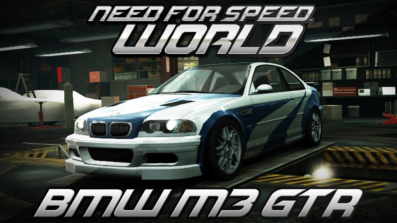 BMW E46 M3 >> Need for Speed World | BMW M3 GTR E46 | Most Wanted Vinyls ...