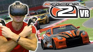 rFactor 2 VR Gameplay on HTC Vive - Car Racing Simulator adds VR Support | Steam Key Winners Picked!