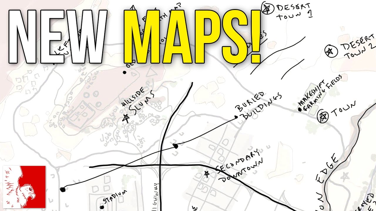 Playerunknown S Battlegrounds Maps Loot Maps Pictures: New Maps Being Worked On For PLAYERUNKNOWN'S BATTLEGROUNDS