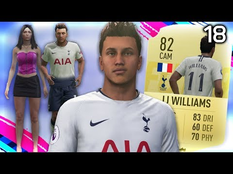 NEW START WITH TOTTENHAM! |  FIFA 19 My Player Career Mode #18