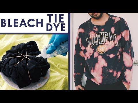 3-fun-ways-to-tie-dye-shirts-with-bleach!