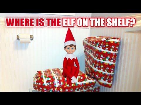 Where is the ELF ON THE SHELF?Elf Christmas Game fkv