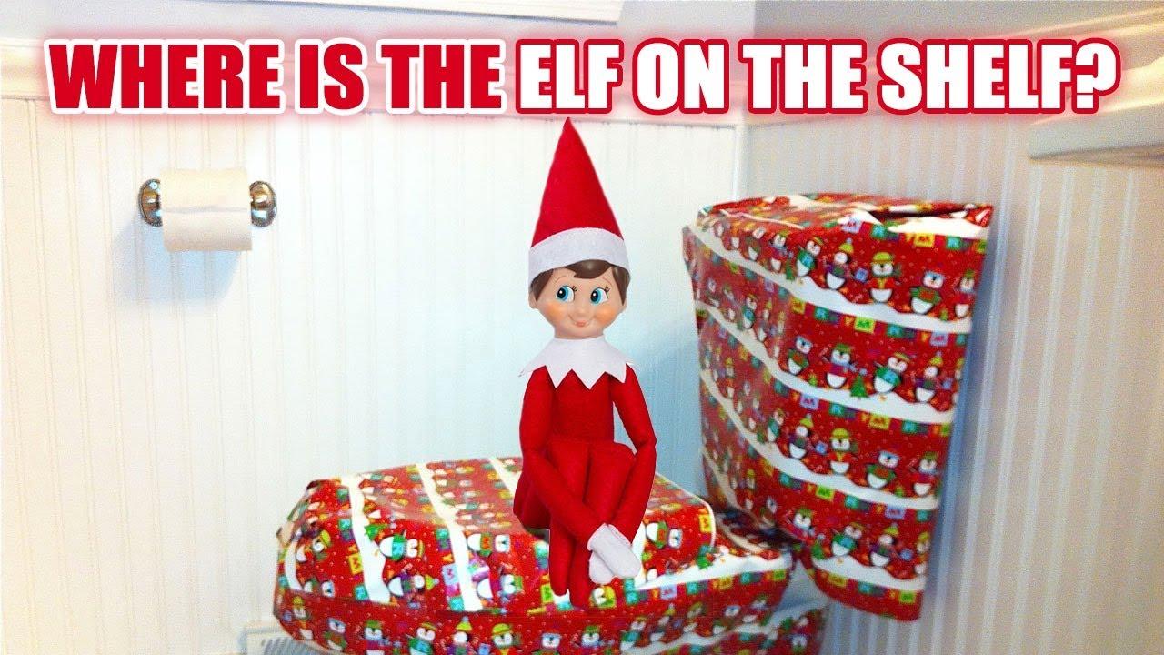 a0f64d05cb9fd Where is the ELF ON THE SHELF  Elf Christmas Game fkv - YouTube