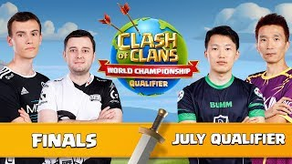 World Championship July Qualifier FINALS Clash of Clans