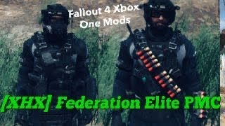 [XHX] Federation Elite PMC Fallout 4 Xbox One Mods